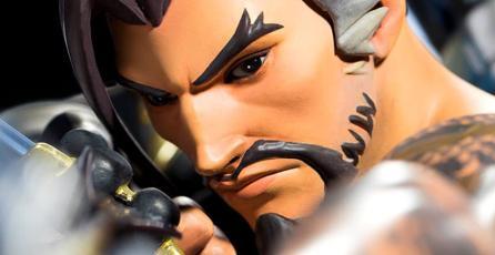 Esta costosa estatua de Hanzo de <em>Overwatch</em> merece estar en tu colección