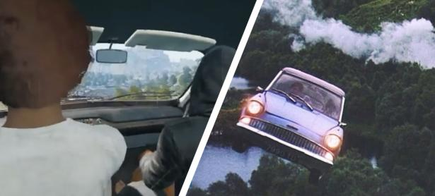 Hacker lleva a pasear a Shroud en auto volador mientras hacia streaming de PUBG