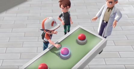Pokémon Let's Go enseña sistema de monturas, gimnasios y cooperativo