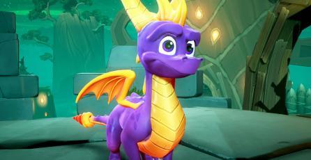 El nuevo gameplay de <em>Spyro Reignited Trilogy</em> corre en un PS4 Pro