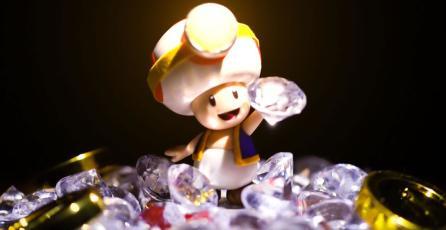 <em>Captain Toad: Treasure Tracker</em> ya está disponible para Switch y 3DS