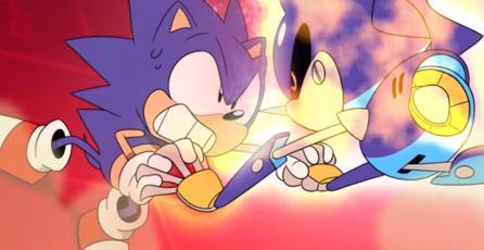 Sonic se enfrenta a Metal Sonic en el último capítulo de <em>Sonic Mania Adventures</em>