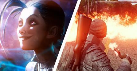 League of Legends y PUBG dominan en PC, mientras que Fortnite en consolas