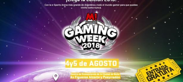 Ya llega la Musimundo Gaming Week