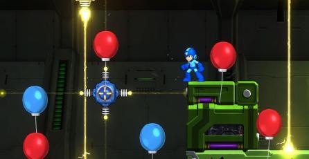 Así se jugará el modo Balloon Attack de <em>Mega Man 11</em>