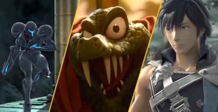 Chrom, Dark Samus y King K. Rool serán personajes jugables en Super Smash Bros. Ultimate