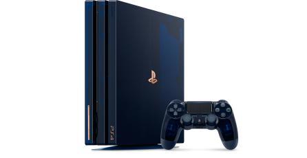 Sony presenta el increíble PS4 Pro 500 Million Limited Edition
