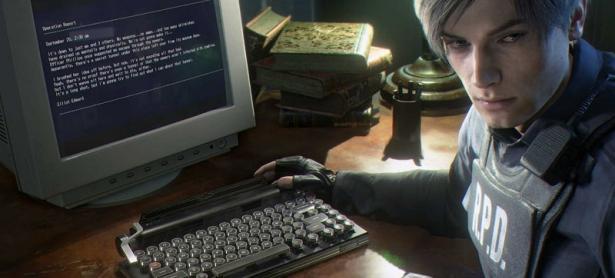 """El hermoso y costoso teclado """"mecánico"""" de Resident Evil 2 Remake"""