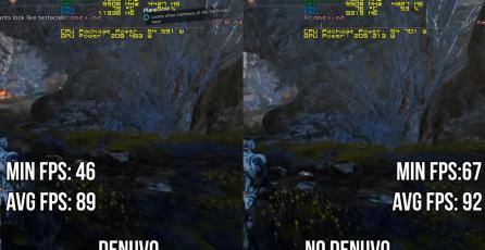 Comprueban como Denuvo hace que los juegos corran a menos FPS