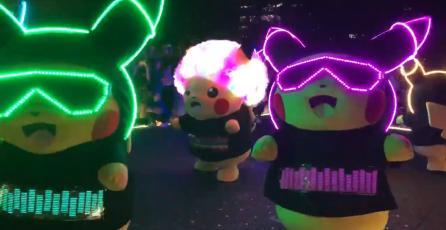 Pikachu se va se fiesta y se toma las calles de Japón esta semana