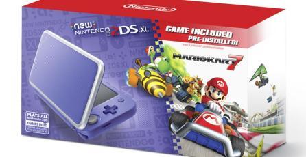Checa el nuevo bundle de New Nintendo 2DS XL y <em>Mario Kart 7</em>