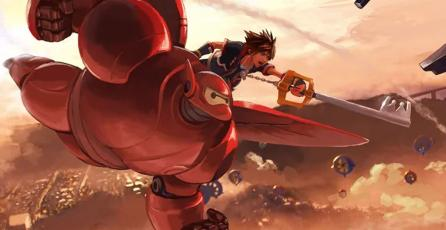 Avance de <em>Kingdom Hearts III</em> muestra el mundo de <em>Big Hero 6</em>