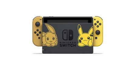 Habrá edición especial de Nintendo Switch de <em>Pokémon: Let's Go!</em>