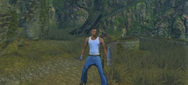 Mod de Dark Souls lleva a CJ de San Andreas directo a Lordran