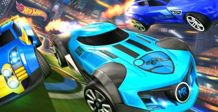 Más autos de Hot Wheels llegarán a<em> Rocket League</em>
