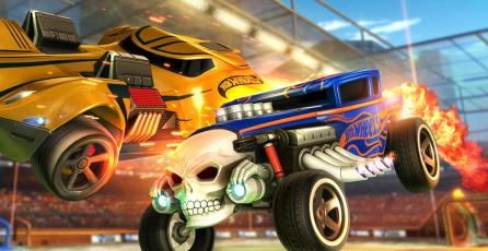 El escenario de Hot Wheels ya está disponible en <em>Rocket League</em>