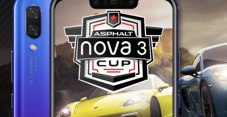 Gameloft y Huawei se unen para realizar la Huawei nova 3 Asphalt Cup