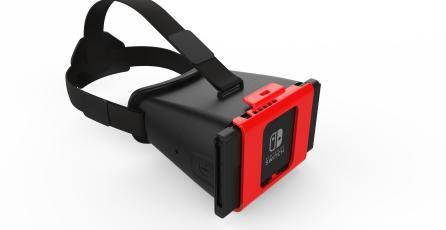 Los lentes de realidad virtual para Nintendo Switch ya existen y están por llegar
