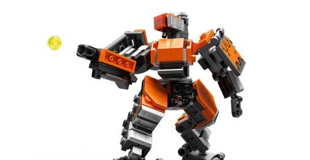 Checa el increíble set de LEGO de Bastion, el héroe de <em>Overwatch</em>