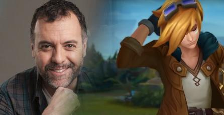 René García, actor de voz de campeones de League of Legends fue reemplazado por Riot Games