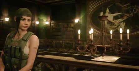 Claire se muestra en <em>Resident Evil 2 Remake</em> con aspecto alternativo del juego