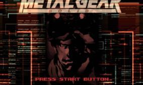 ¡Metal Gear Solid cumple 20 años de su lanzamiento!