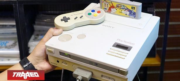 Será subastado el último prototipo de la ''Nintendo-PlayStation''