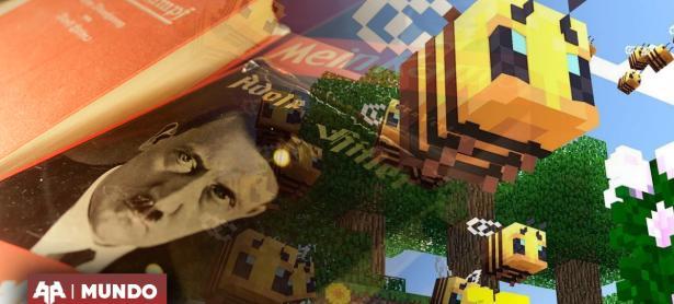 Abuelo confunde Minecraft con libro de Hitler para regalo de navidad