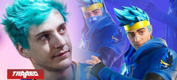 Ninja se convierte en el primer streamer en tener un skin en Fortnite