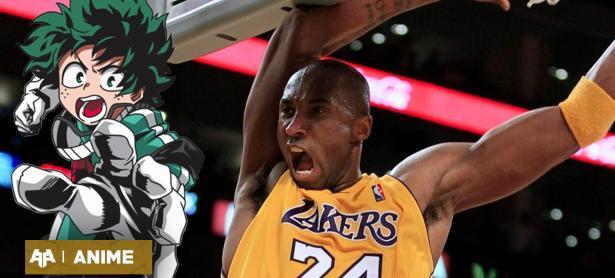 Creador de My Hero Academia honra a Kobe Bryant