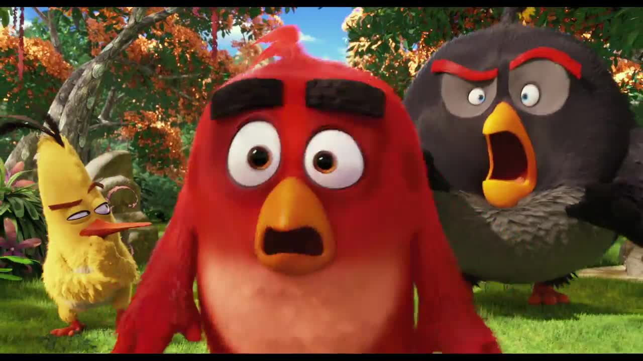 red chuck bomb angry birds movie