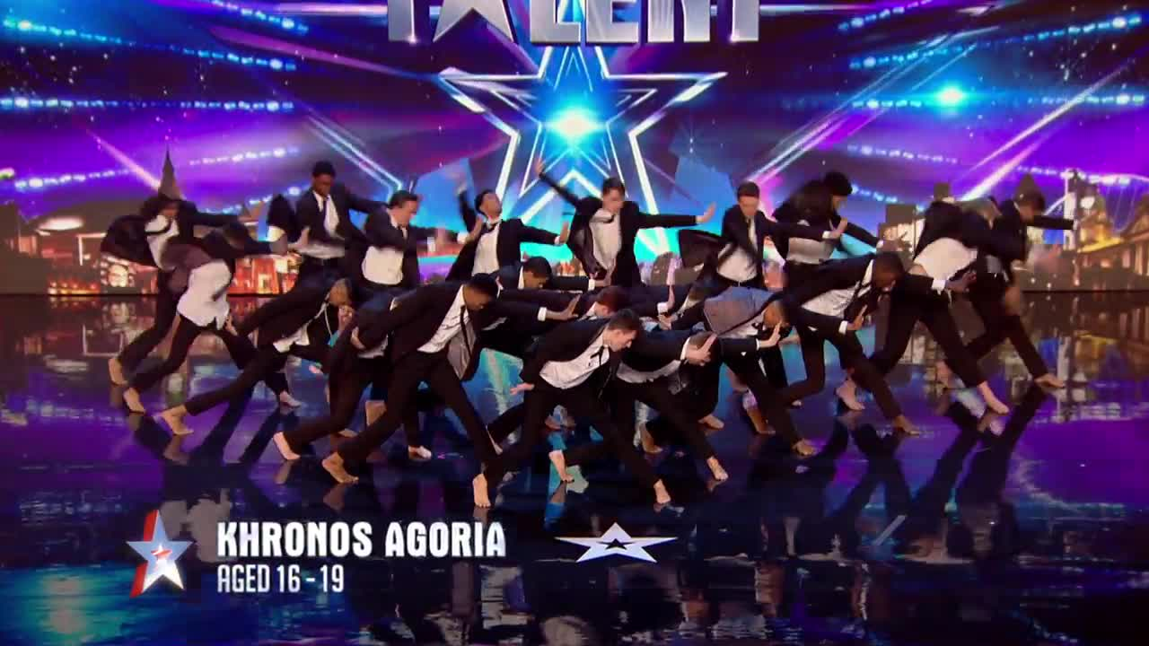 Britain S Got Talent 2016 Khronos Agoria Are A Real Force To Be  # Muebles Para Night Club
