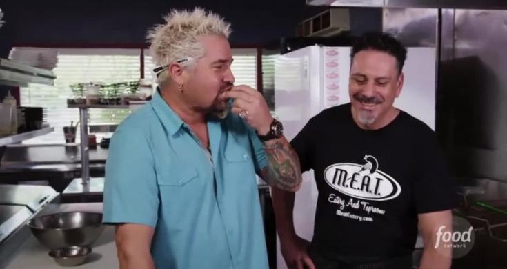 Guy Fieri Eating Food To Johnny Cash Hurt