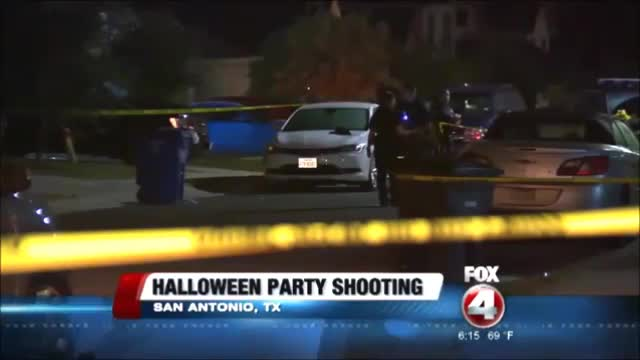 Freddy Krueger Shooting at Halloween Party in San Antonio, Texas ...