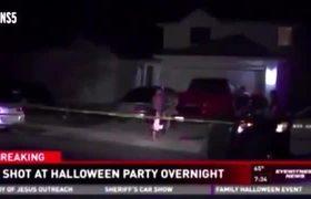 Freddy Krueger Shooting at Halloween Party in San Antonio, Texas ...