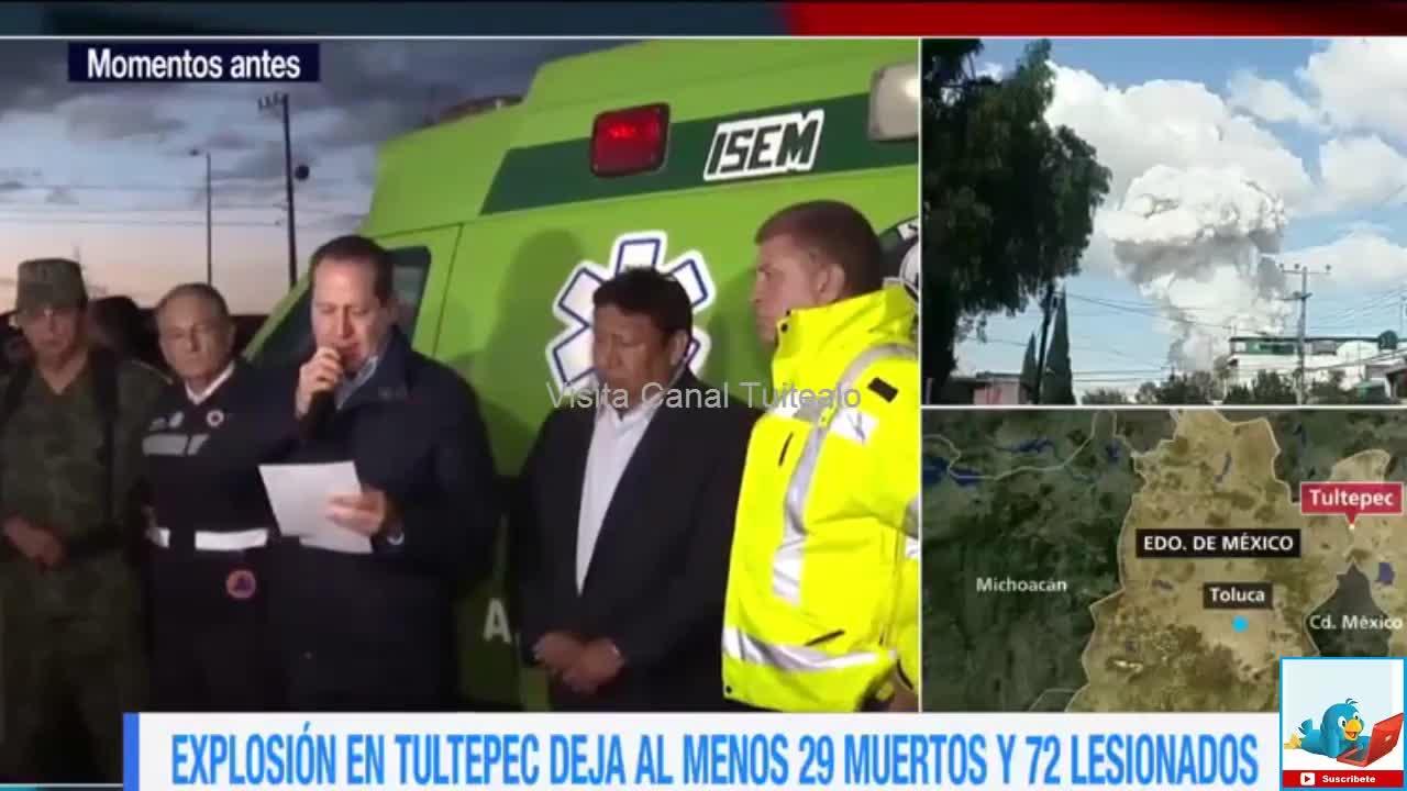 Eruviel Vila Confirma Cifra De Muertos Por Explosi N En Tultepec  # Muebles Tultepec Toluca