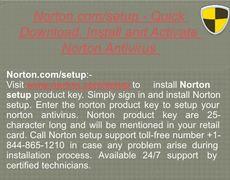 norton setup deutsch