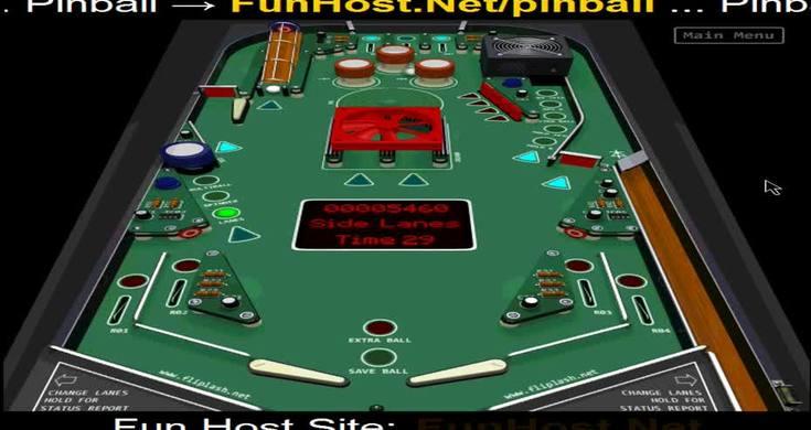 Play Pinball Online