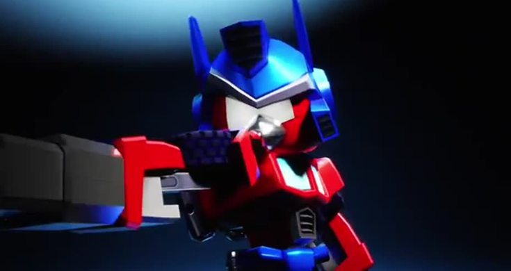 Angry Birds Transformers Red As Optimus Prime First Sneak