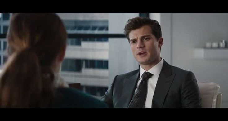 Fifty shades of grey the interview scene videos metatube for Bett 50 shades of grey