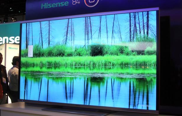 """Hisense presentó un equipo de 65"""" que cuenta con almacenamiento en la nube y su propia tienda de aplicaciones."""