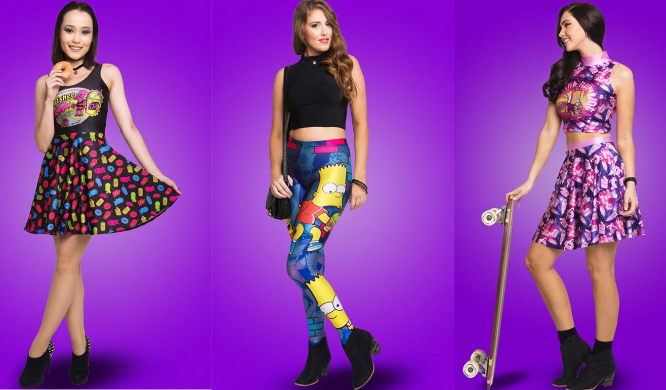 Ay Caramba! Línea de ropa inspirada en Los Simpson - Qore