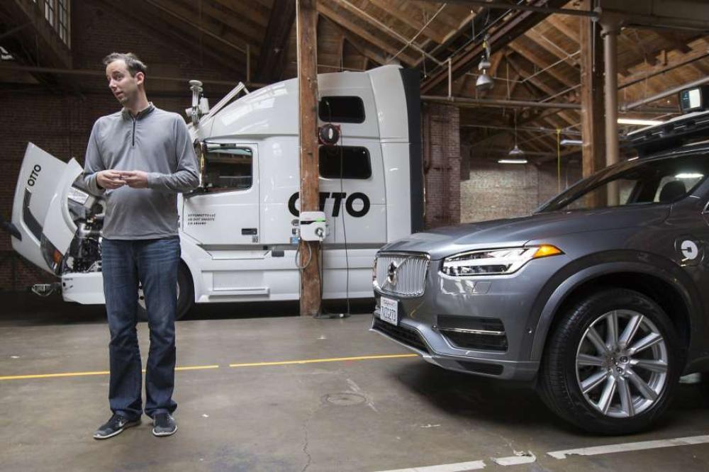 Anthony Levandowski, antes de que Uber adquiriera Otto