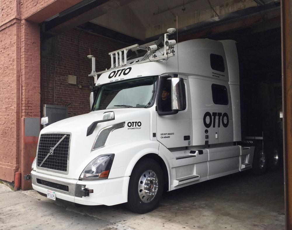 Los camiones que supuestamente construrían en Otto