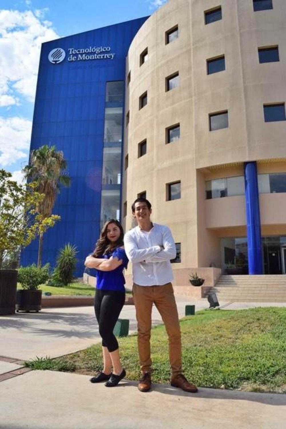Los emprendedores Seiry y Leonel