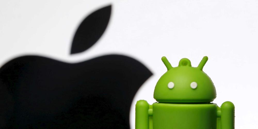La batalla por el mercado de los smartphones se convirtió en una carrera de dos: Google vs. Apple