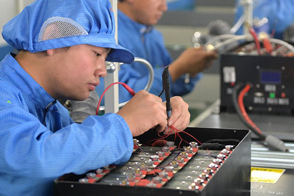 CATL es uno de los fabricantes de baterías automotrices más grandes del mundo