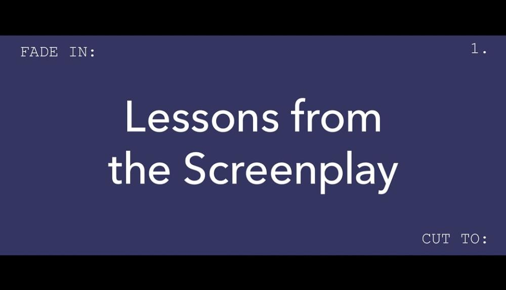 Lessons from the Screenplay es un canal de YouTube que funciona con crowdfunding