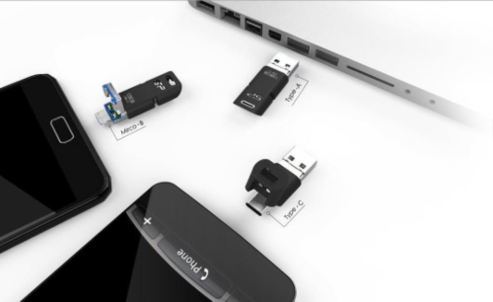 El Mobile C50 es capaz de conectarse a tres tipos de entradas distintas