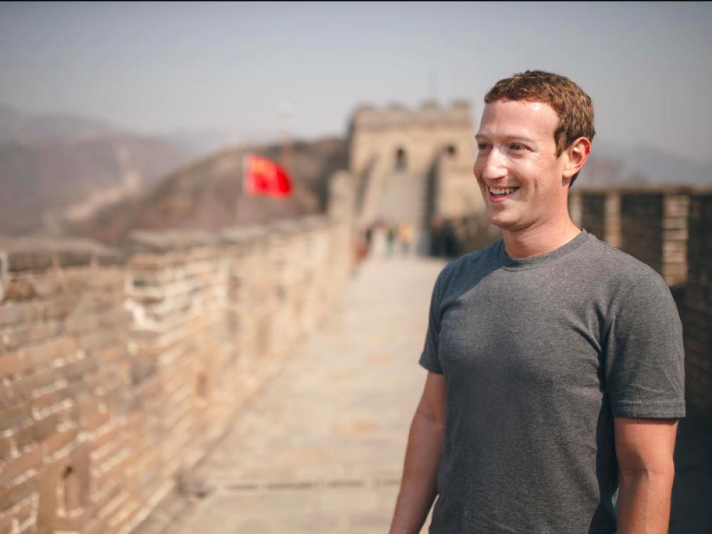 Mark Zuckerberg ha estado buscando formas de apoyar al mercado chino